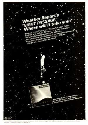Night Passage Ad
