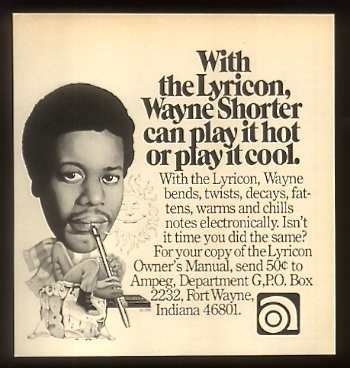 Lyricon Ad