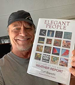 Brian Risner with his copy of Elegant People